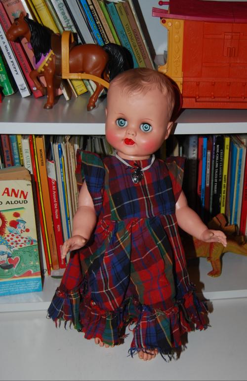 Vintage doll & swing 5