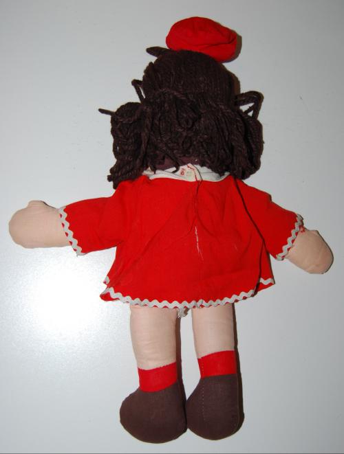 Vintage little lulu plush doll possibly horsman