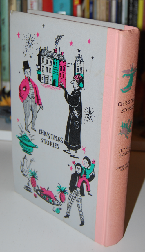 Charles dickens' christmas stories jr deluxe edition book 1
