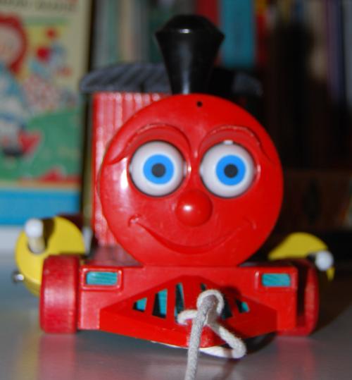 Fisher price huffy puffy train 2