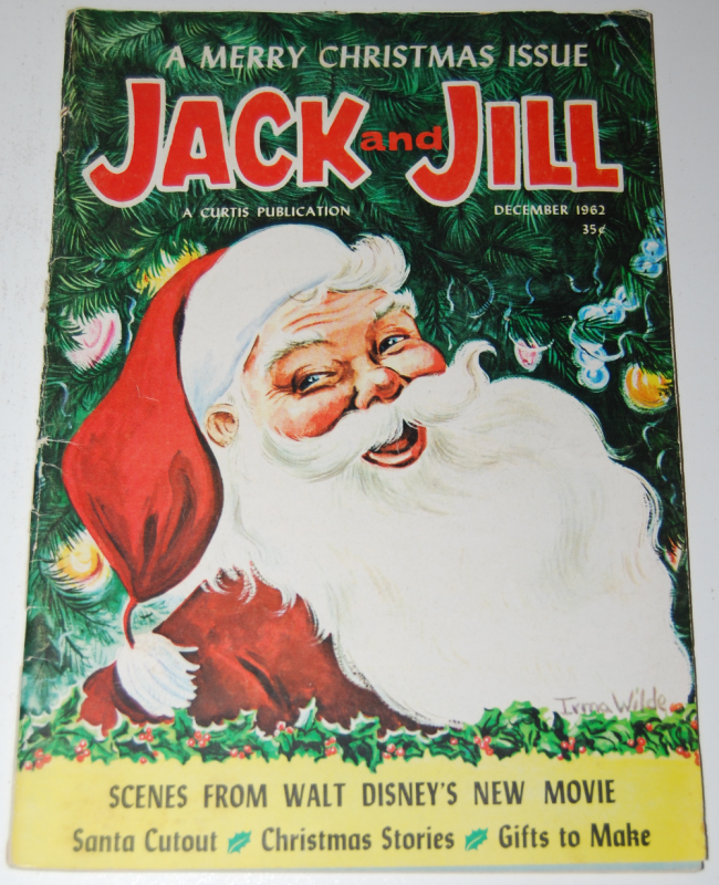 jack & jill magazine ~ december 1962