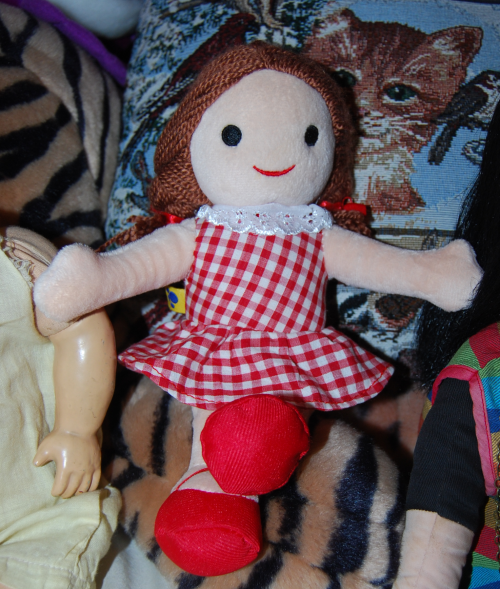 Misfit dolly for sue build a bear doll 4