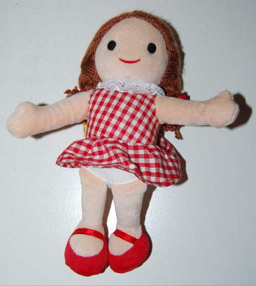 Misfit dolly for sue build a bear doll
