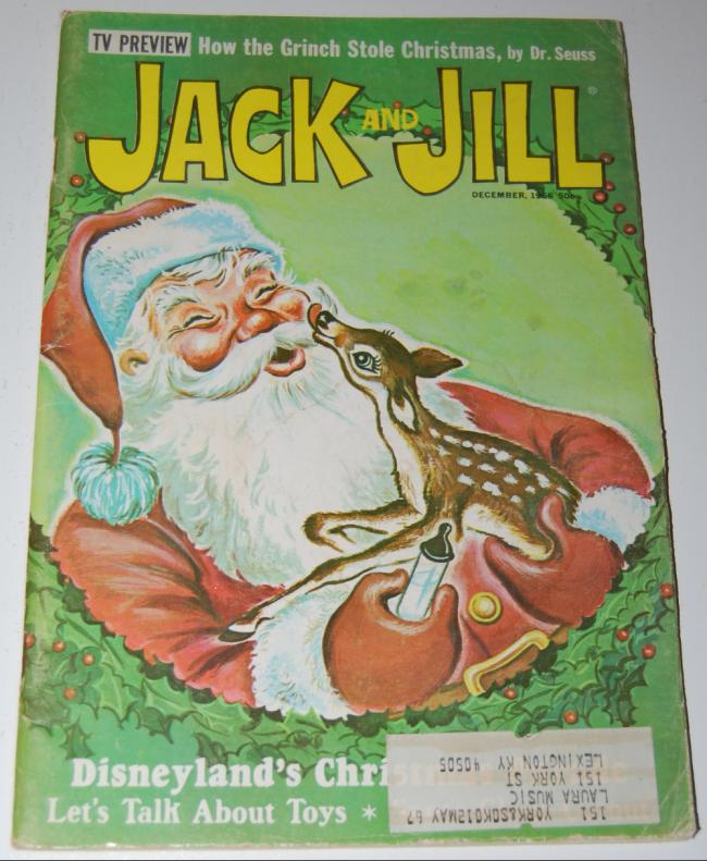 jack & jill magazine ~ december 1966