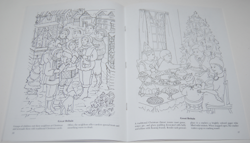 Dover xmas around the world coloring book 5