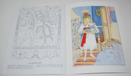 Dover xmas around the world coloring book 8
