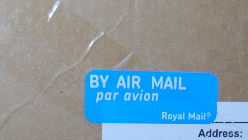 Royal mail by air mail par avion