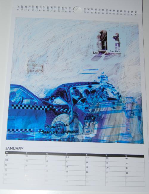 Radiohead calendar 2018 1