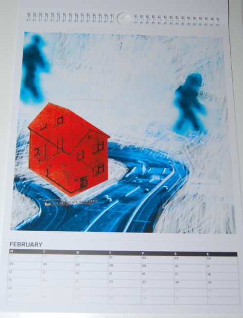Radiohead calendar 2018 2