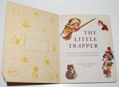 Little golden book the little trapper 1