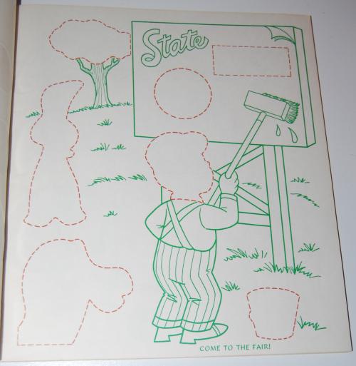 Gumby & pokey sticker fun whitman 3