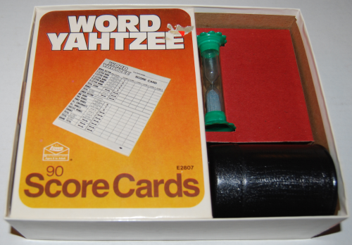 Word yahtzee game 1