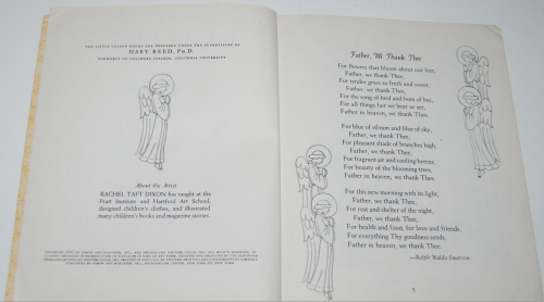 Little golden book prayers for children 1942 1