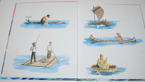 Big golden book of boats & ships 1