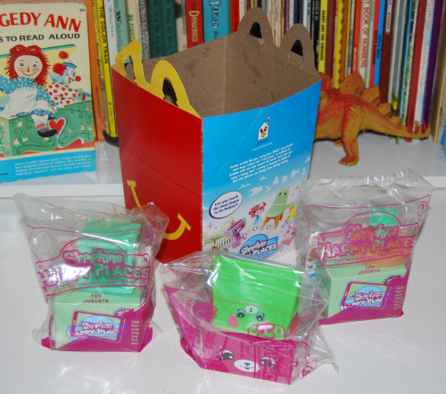 Shopkins happy places happy meal