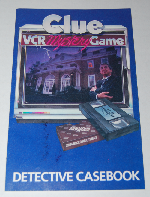 Clue vcr mystery game 7