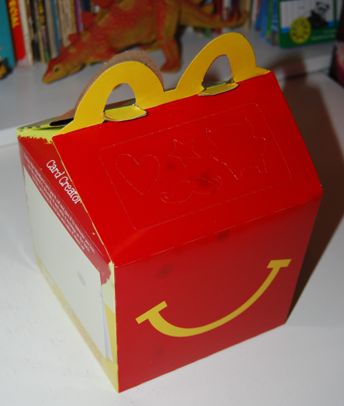 Valentine happy meal 2
