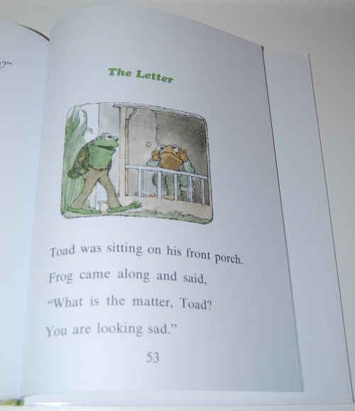Frog & toad are friends book 8