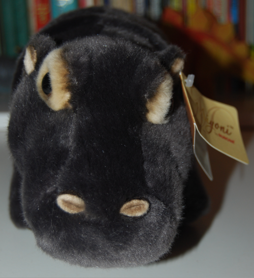 Aurora hippo plush toy 5