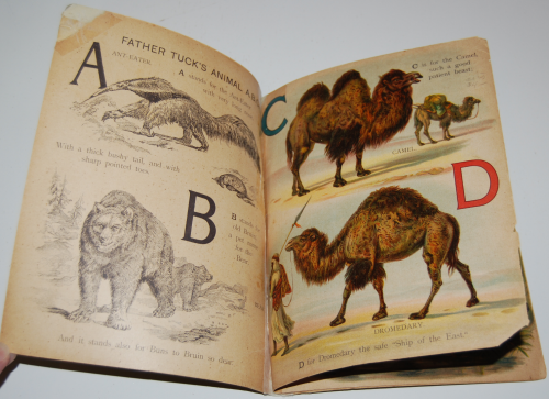 Father tucks animal abc book 1