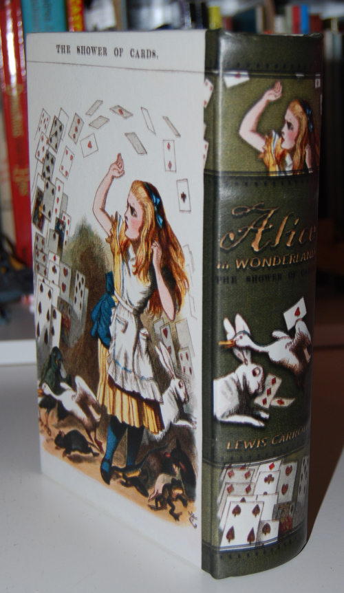 Alice treasure book box x