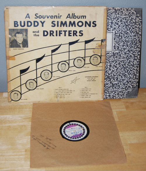 Buddy simmons & the drifters album