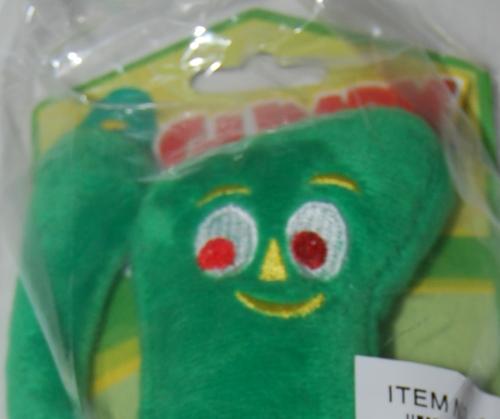 Gumby dog toy x