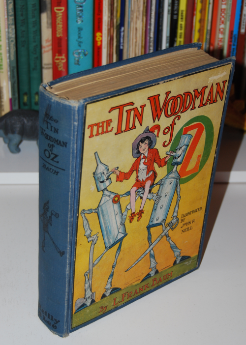 The tin woodman of oz 1