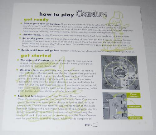 Cranium board game 1