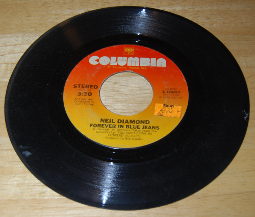 Vintage 45s vinyl