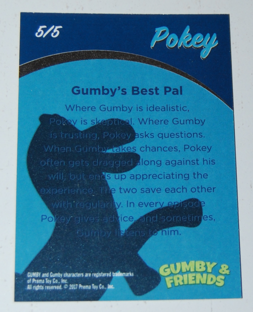 Gumby's world collector card foils 2x