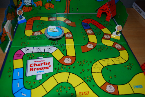 Charlie brown milton bradley board game 14