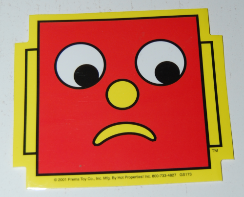Gumby stickers 2001 2