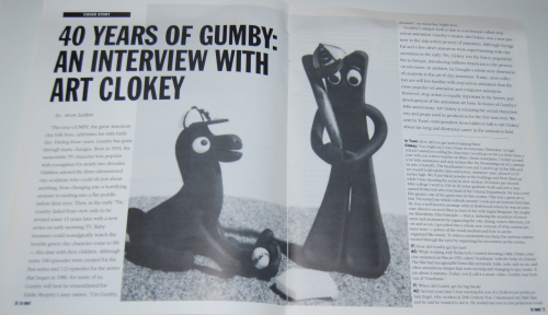In toon magazine gumby 1