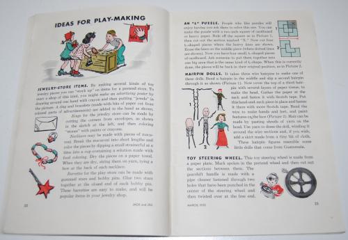 Jack & jill magazine march 1953 2