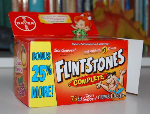 Flintstones vitamins 2