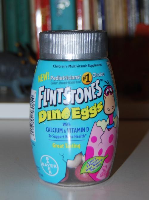 Flintstones vitamins x
