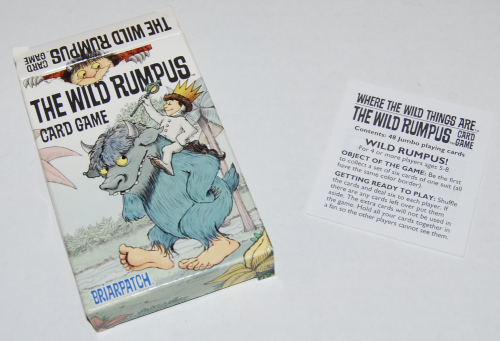 The wild rumpus card game