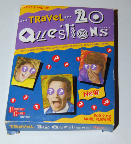 Travel 20 questions card game