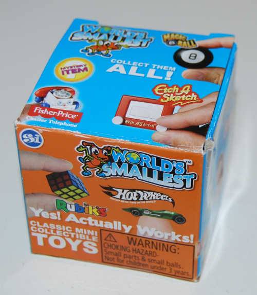 Si world's smallest toys x