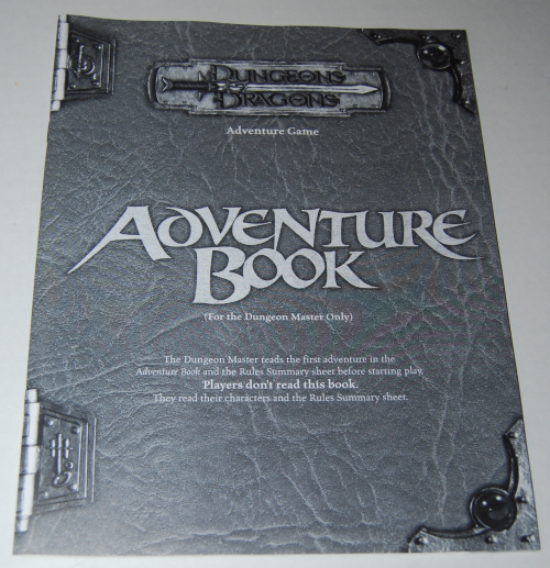 Dungeons & dragons adventure game 4