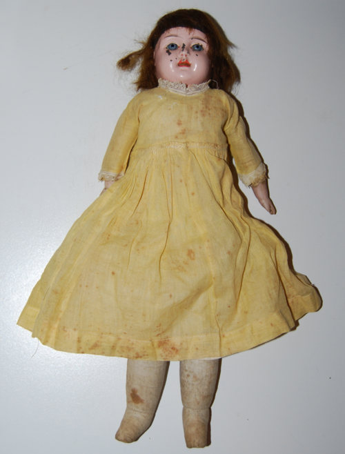 Vintage jointed doll x