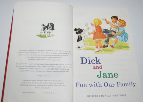 Dick and jane fun with our family 1