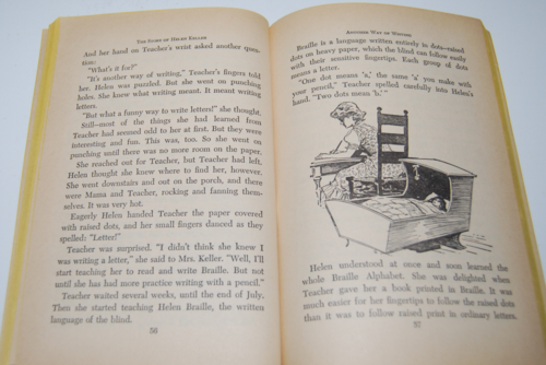 The story of helen keller scholastic book 6