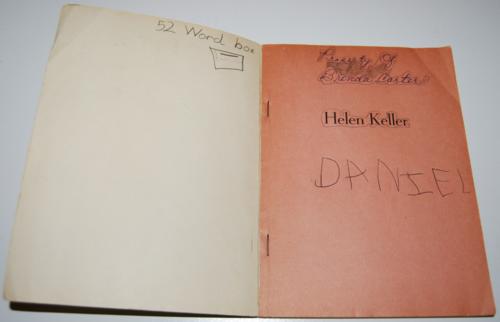 Helen keller scholastic book 1