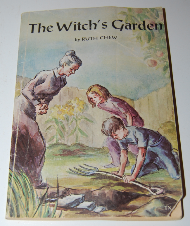 scholastic book week ~ the witch's garden