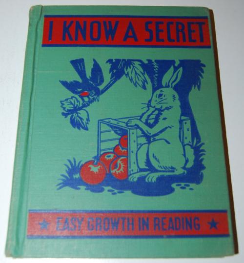 I know a secret 1947 vintage reader
