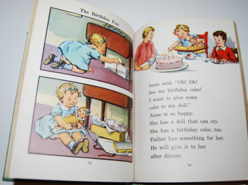 I know a secret 1947 vintage reader 9