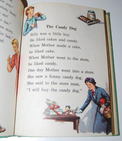 I know a secret 1947 vintage reader 10
