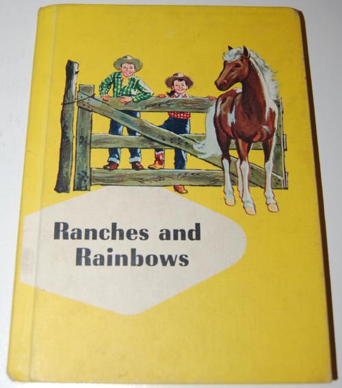 Ginn rainbows & ranches vintage reader